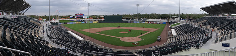 Hammond Stadium - Spring Training home of the Twins