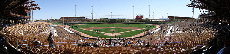 Los Angeles Dodgers And Chicago White Sox Spring Training