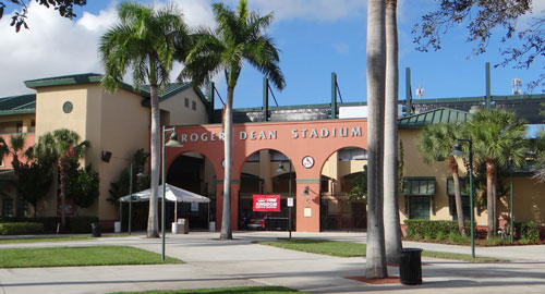 Miami Marlins and St. Louis Cardinals Spring Training