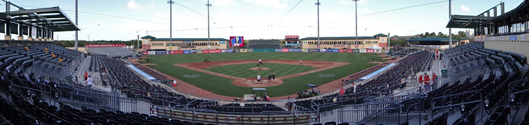 Roger Dean Stadium - Spring Training home of the Marlins