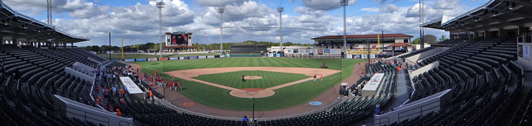 Joker Marchant Stadium - Spring Training home of the Tigers