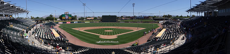 Hohokam Stadium - Spring Training home of the A's
