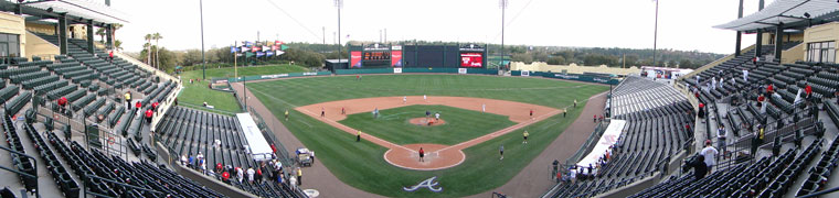Champion Stadium - Spring Training home of the Braves