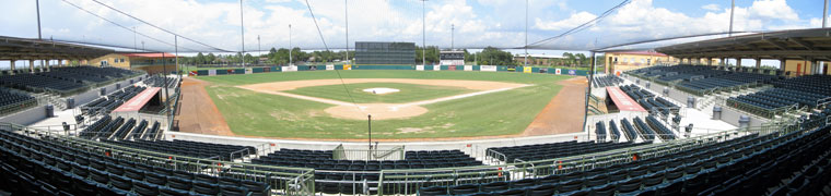 Osceola County Stadium - Spring Training home of the Astros