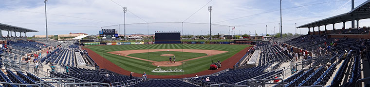 Peoria Sports Complex - Spring Training home of the Padres
