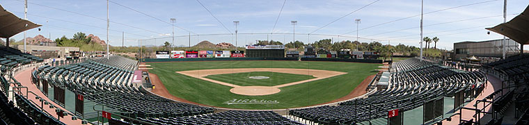 Phoenix Municipal Stadium - Spring Training home of the A's