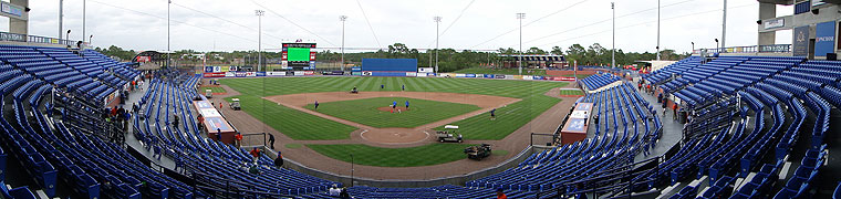 First Data Field - Spring Training home of the Mets
