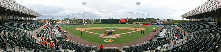 Ed Smith Stadium - Spring Training home of the Orioles