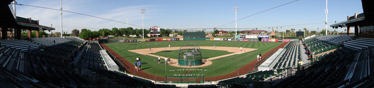 Scottsdale Stadium - Spring Training home of the Giants