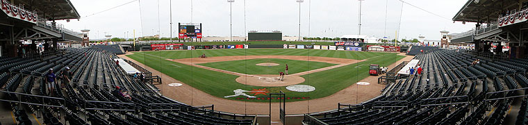 Surprise Stadium - Spring Training home of the Rangers