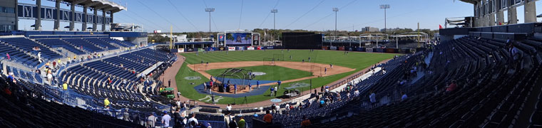 Steinbrenner Field - Spring Training home of the Yankees