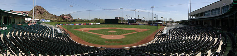 Tempe Diablo Stadium - Spring Training home of the Angels