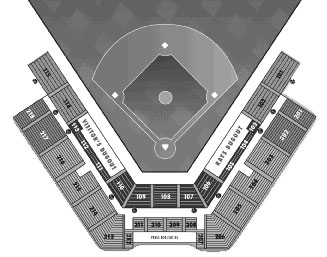 Charlotte Sports Park seating diagram