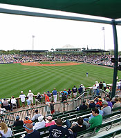 A new-look McKechnie Field debuted in 2013