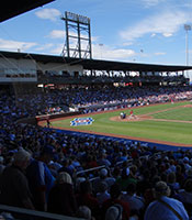 A new Cubs spring training stadium opened in 2014